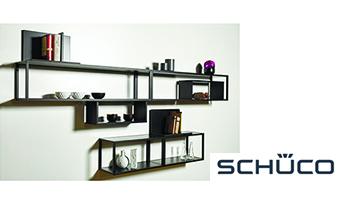 Стеллажная система SmartCube от SCHUCO.