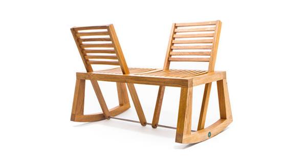 Двухместная скамейка-трансформер, выпущенная ограниченной серией, от дизайнера Хлои Де Ла Чейз