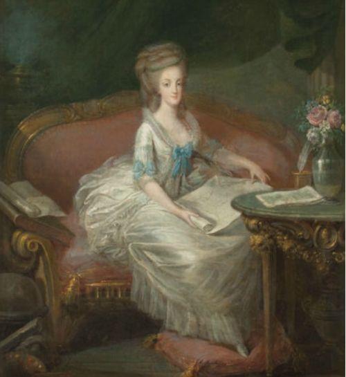 Портрет Марии Антуанетты.