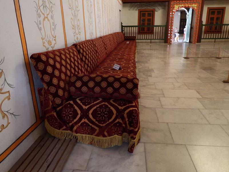 Крым. Бахчисарай, Ханский дворец, Зал Совета или Диван