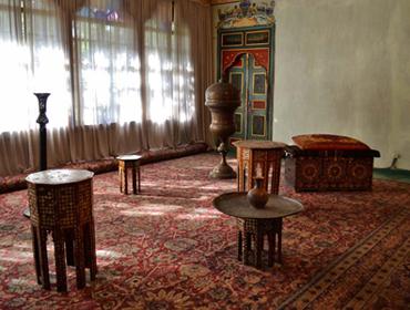 Крым. Золотой кабинет Ханского дворца в Бахчисарае