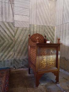 Крым. Бахчисарай, Ханский дворец Михраб. Печать Сулеймана.
