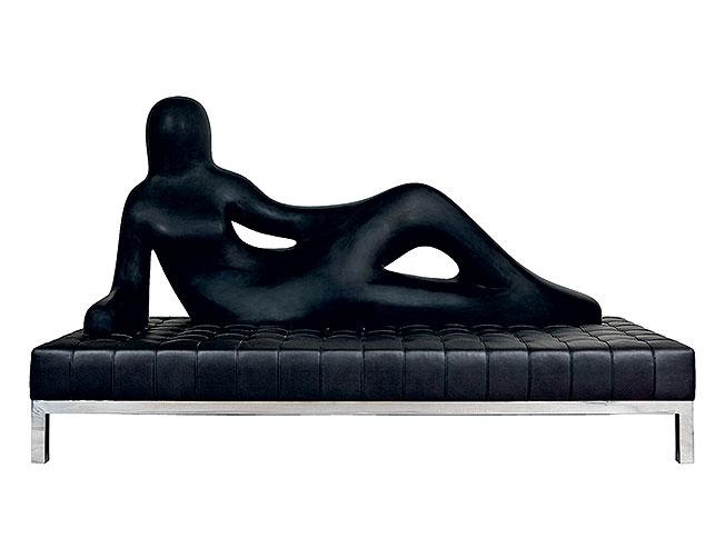Диван DIVINA, Driade. 2008. Limited edition. Женское тело — один из основных источников вдохновения Ф. Новембре.