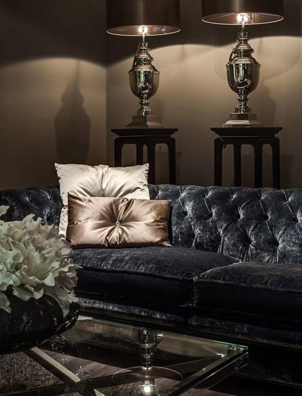 Гламурный стиль часто ассоциируется с великолепными замками, в стиле барокко.