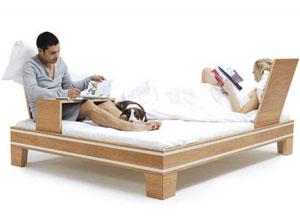 Многофункциональная кровать для влюбленных от Chris & Ruby