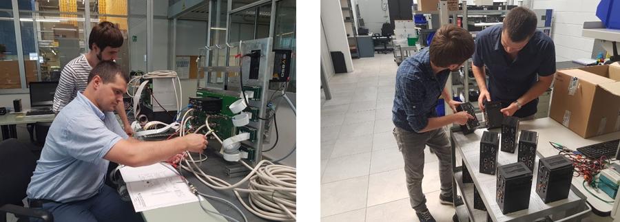 Специалисты службы сервиса LIGA побывали на участках проектирования, сборки, настройки и проверки блоков управления и под руководством инженеров завода на практике убедились в высоком качестве продукции TPA.