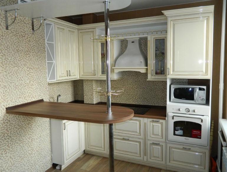 современный дизайн маленькой кухни в хрущевке дизайн мебели новости