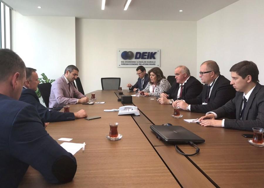 Сергей Ситников обсудил с турецкими инвесторами возможность реализации проекта по глубокой переработке древесины