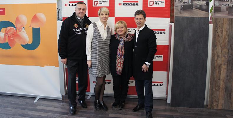 Презентация коллекции EGGERZUM 2018 в Санкт-Петербурге
