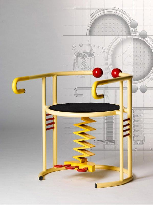 Экспериментальные стулья для микродвижений по проекту Юмин Ху