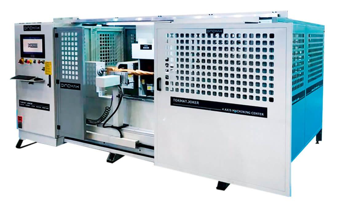 Тест-драйв в Махачкале токарно-фрезерного центра с ЧПУ TORMAT – JOKER и другого оборудования для столярного производства