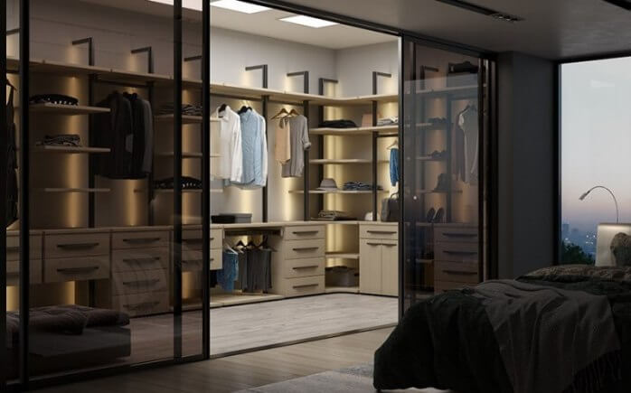 Долгожданная гардеробная система - «МАРКУС»