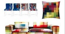 Пиксельная мебель от Кристиана Зузунага (Cristian Zuzunaga)